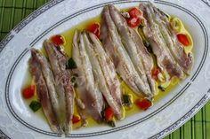 Γαύρος μαρινάτος Greek Recipes, Fish Recipes, Seafood Recipes, Salad Recipes, Food Network Recipes, Cooking Recipes, Healthy Recipes, Cyprus Food, Greek Cooking