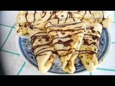 Bakina kuhinja - palačinke sa eurokremom - YouTube