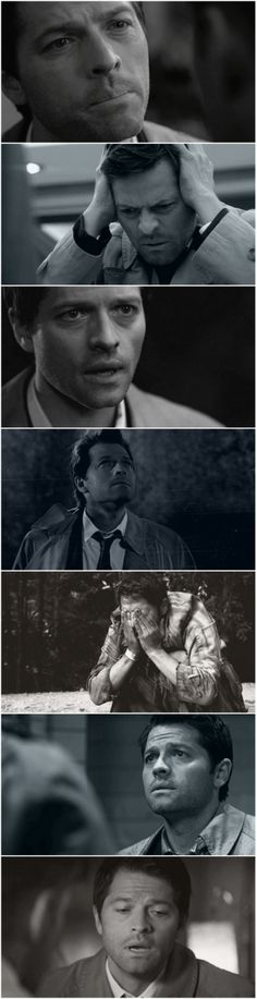 Supernatural | Castiel <---/ the fifth one is a ...wait for it... Weeping angel!!!! *bahdumtsss*