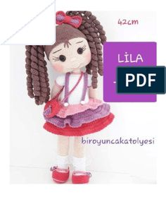 Amigurumi Tutorial, Crochet Amigurumi Free Patterns, Crochet Doll Pattern, Crochet Bunny, Crochet Dolls, Knit Crochet, Crochet Hats, Patron Crochet, Dream Doll