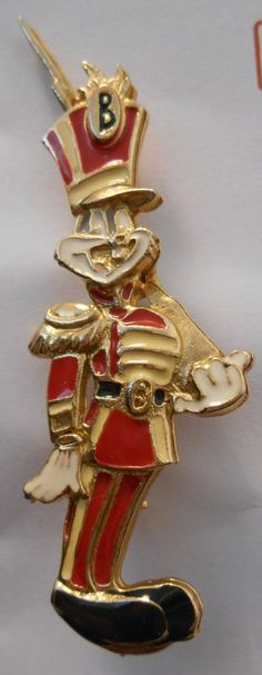 Bugs Bunny Toy Soldier Guard Enamel Pin Decorative Jewelry Christmas Holiday Looney TunesWarner Bros