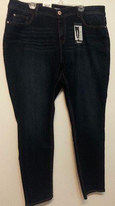 Check out NWT Jordache Extra Stretch skinny jeans size 22W #Jordache #skinny http://www.ebay.com/itm/-/262509953211?roken=cUgayN&soutkn=lLVoGJ via @eBay
