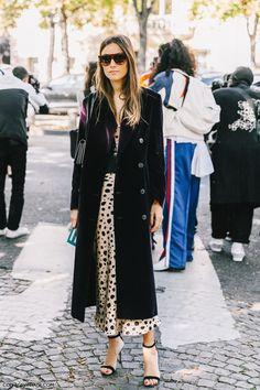 Paris Fashion Week- Street Style outfit- Vintage Louis Vuitton & Miu Miu
