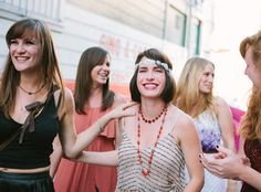Got the Hanny's idea from this: San Francisco North Beach Vintage Bachelorette Party