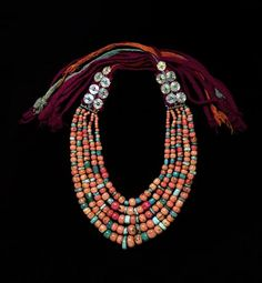 Necklace from Marrakech, Morocco | Desert Jewels: North African Jewelry and Photography from the Xavier Guerrand-Hermès Collection