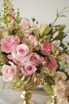 Copón y bouquet