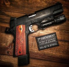 Pistol, spring armory, guns, weapons, self defense, protection, 2nd amendment, America, firearms, munitions #guns #weapons