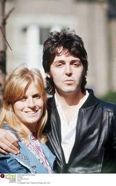 Nice pic - Paul and Linda