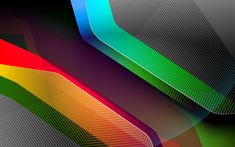 Download wallpapers abstract material, 4k, geometric shapes, art, futuristic, dark background, creative, geometry