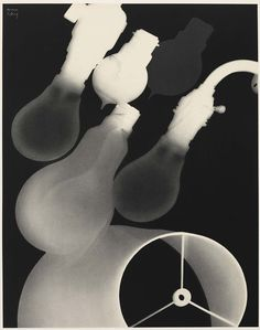 Man Ray. Lightbulbs, electricity, industrial revolution idea. Home and lifestyle experiences.