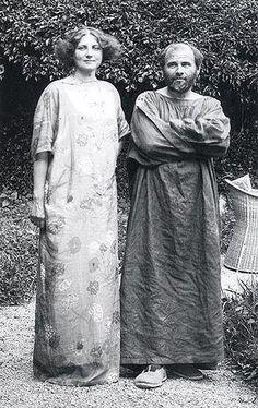 Gustav Klimt and Emily Floge