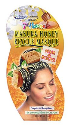 Hair care Manuka Honey Rescue Masque Hair & Roots by Montagne Jeunesse African American Beauty, Best Honey, Hair Masque, 7th Heaven, Honey Hair, Damaged Hair Repair, Manuka Honey, Fragrance Parfum, Best Anti Aging