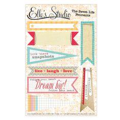 Enter to win $25 in darling scrapbook goodies from ellesstudio!