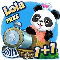 VERSIÓN GRATUITA. El Tren de las matemáticas de Lola ha sido diseñado cuidadosamente para divertir a niños de 3 a 7 años.  El Tren de las matemáticas de Lola comienza con tareas sencillas de reconocimiento de números.