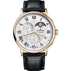 Amazon.com: Frederique Constant Mens Slimline Silver Dial Leather Band Watch FC245WR5S6: Watches