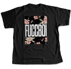 Fuccboi Chroma-Floral T-Shirt (Black) – Digital Threads