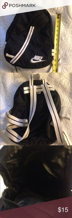Nike small backpack. In good condition . Carry to the gym or for travel. Nike Bags Backpacks