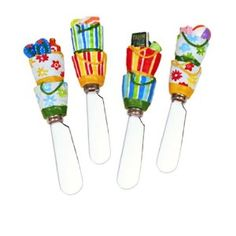 Image detail for -Amazon.com: Beach Bag Cheese Spreader - Set of 4: Kitchen & Dining