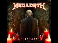 Megadeth-Th1rt3en (Full Album 2011)