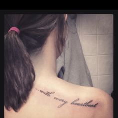 My new shoulder tattoo. (: