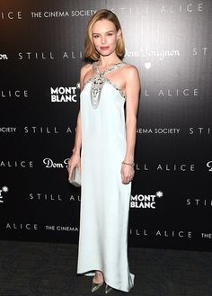 our blue crush. Kate Bosworth in Oscar Spring 2015 at the Still Alice premiere in New York City.
