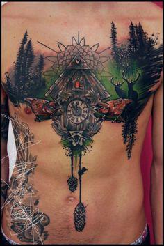 Tattoo-Foto: Schwarzwald <3
