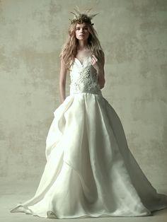 Wedding dress ウエディングドレス NAEEM KHAN 03-8913 Naeem Khan, Bridal Musings, Christening, Wedding Day, Wedding Dresses, Outfits, Fashion, Pi Day Wedding, Bride Dresses