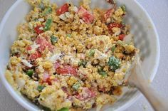 Southern Plate Cornbread Salad Note by VRD: used bacon bits: maybe use a 1/2 packet or so next time)