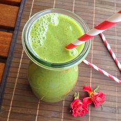 Veganaholic: Green Morning Smoothie: frischer Drink mit Petersilie und Minze