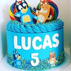 A Bluey chocolate mud cake to celebrate Lucas's Birthday. An excited young man to have a very Bluey birthday party 🥳. 5th Birthday, Birthday Cakes, Birthday Ideas, Birthday Parties, Chocolate Mud Cake, Drip Cakes, Rowan, Bingo, Lincoln
