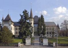 Frontansicht des Bernischen Historischen Museums