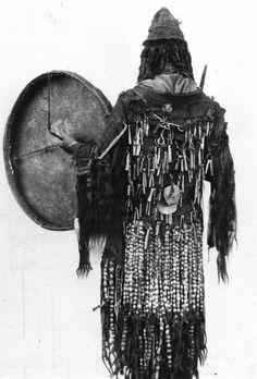 Photo of a Yukaghir shaman from 1902