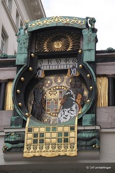 Anker Clock in Hoher Market, Vienna...absolutely stunning