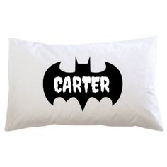 PRESENT IDEA: Batman Personalised Name - Pillowcase $29.99 NZD from NZ store