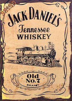 Vintage Labels, Vintage Signs, Vintage Posters, Jack Daniels Logo, Jack Daniels Whiskey, Advertising Signs, Vintage Advertisements, Whisky Jack, Cigar Art