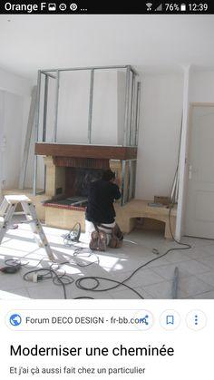 moderniser une chemin e deco home fireplace home. Black Bedroom Furniture Sets. Home Design Ideas