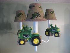 John Deere Tractor.. cute for a baby nursery-@Stephenie Raymond .. for whenever you decide you want babies