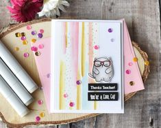 Cool Teacher Card! | Craft For Joy Designs