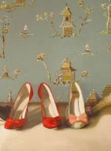 Janet Hills - Shoes - Painting