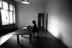 Margaret Atwood writing The Handmaid's Tale in Berlin, 1984.