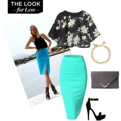 the look for the less by jheka on Polyvore featuring Doublju, Forever 21 and Kate Spade High Waisted Skirt, Kate Spade, Forever 21, Skirts, Polyvore, Stuff To Buy, Shopping, Collection, Design