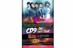 """CD9 ESTARÁN EN CANCÚN COMO PARTE DE """"THE PARTY TOUR"""""""