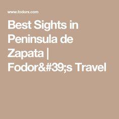 Best Sights in Peninsula de Zapata   Fodor's Travel
