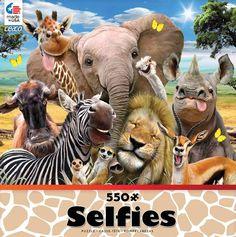 2327-3 550 Pieces Ceaco Backyard Selfie Puzzle