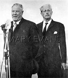 Hendrik Verwoerd and Harold Macmillan, Cape Town,