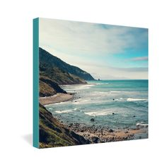 Catherine McDonald California Pacific Coast Highway Gallery Wrapped Ca | DENY Designs Home Accessories