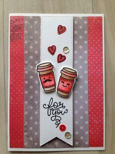 "Lawn Fawn ""Love you a latte"""