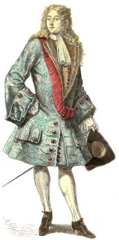 Gentleman of the Early 1700s