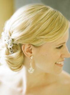 Washington DC Wedding Ceremony Bridal Hair Inspiration 275x374 Modern Meets Vintage Wedding Ceremony in Washington DC: Jessica + Ian