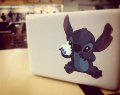 stitch computer decal!